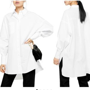 TopShop Over Sized Poplin Shirt
